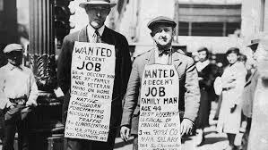 Toye, Great Depression