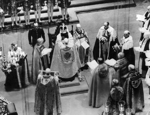 coronation, toye, george VI, queen elizabeth